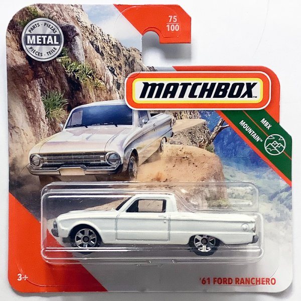 Matchbox | '61 Ford Ranchero Pick-Up white