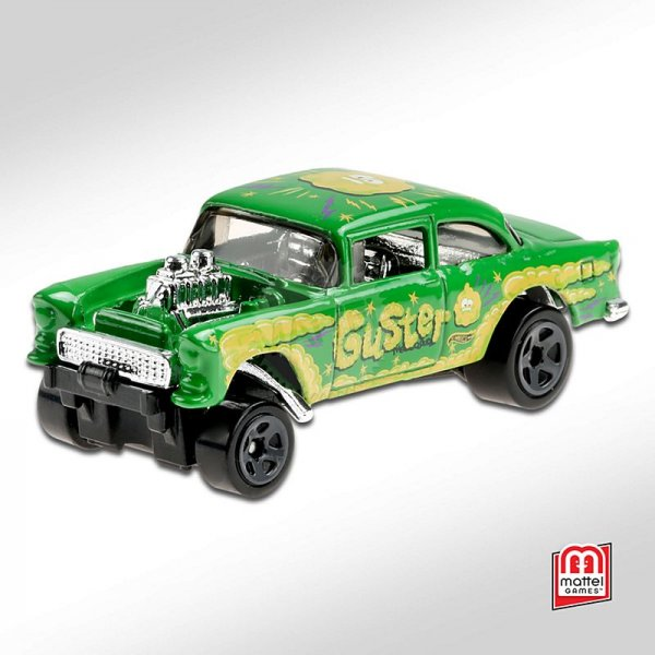 Hot Wheels | Chevy Bel Air Gasser GUSTER green / yellow