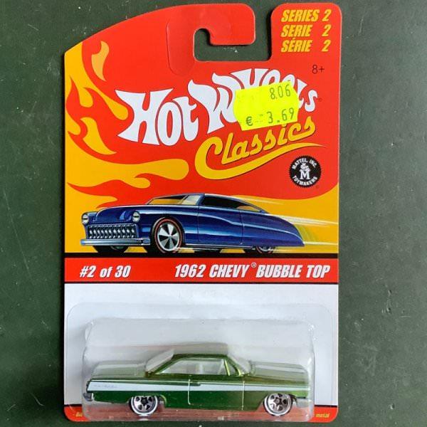 Hot Wheels | Classics Serie 2 2 of 30 1962 Chevy Bubble Top hellgrünmetallic