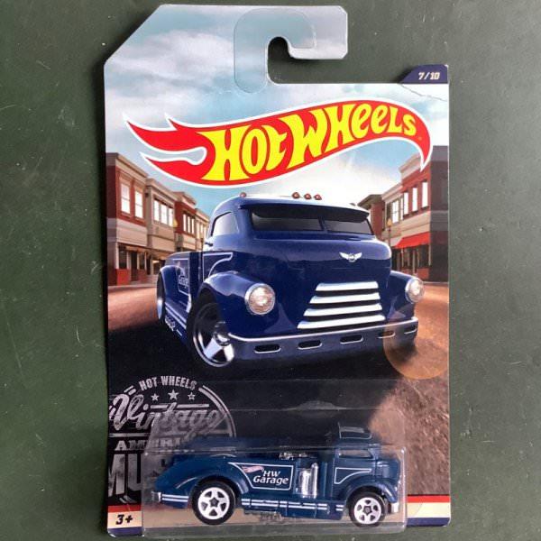 Hot Wheels | 7/10 Vintage American Muscle Mig Rig blue