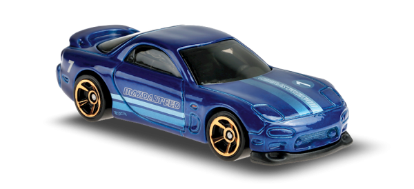 Hot Wheels | Mazda RX-7 MAZDASPEED #7 metallic blue
