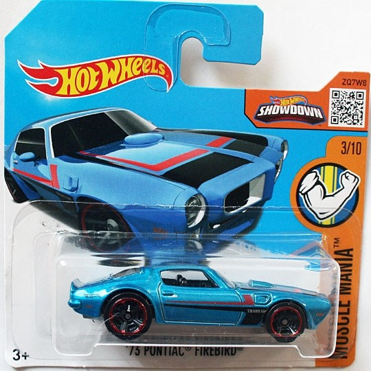 Hot Wheels | Pontiac Firebird blaumetallic