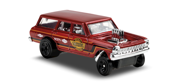 Hot Wheels | '64 Chevy Nova Wagon Gasser SOUTHEAST GASSER ASSOCIATION braunrot