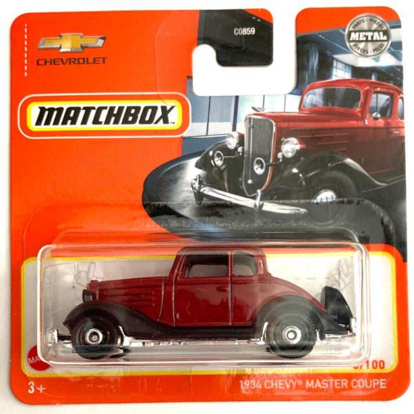 Matchbox | 1934 Chevy Master Coupe dunkelrot / schwarz