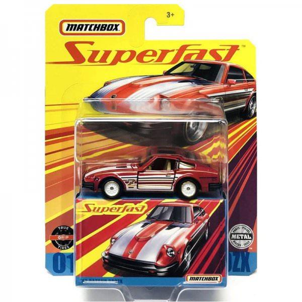 Matchbox | Superfast 1962 Datsun 280ZX dunkelrot