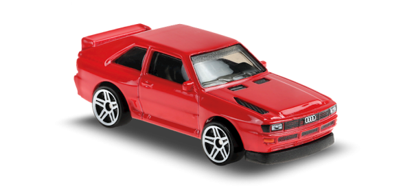 Hot Wheels | '84 Audi Sport Quattro rot