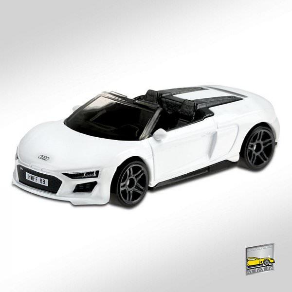 Hot Wheels | 2019 Audi R8 Spyder white