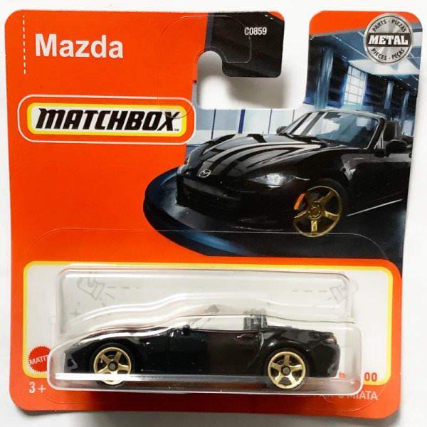 Matchbox | Mazda MX-5 Miata schwarz