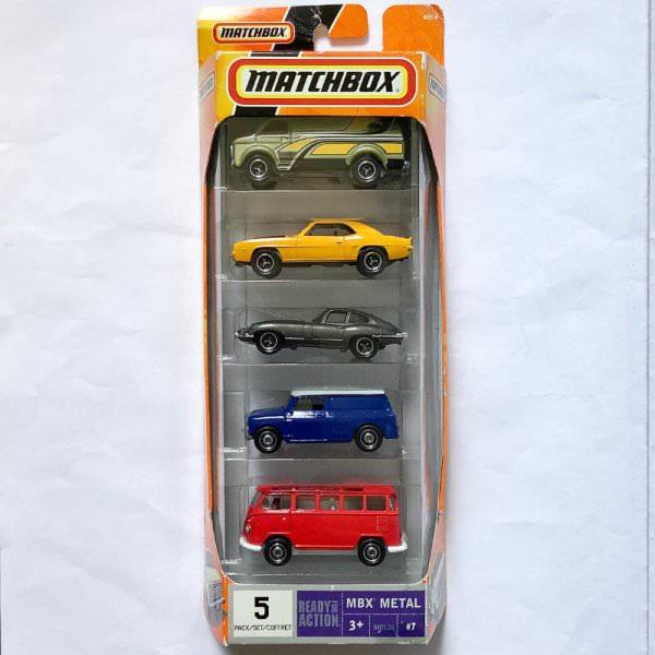 Matchbox | Austin Mini Van dark blue / white 5-Pack