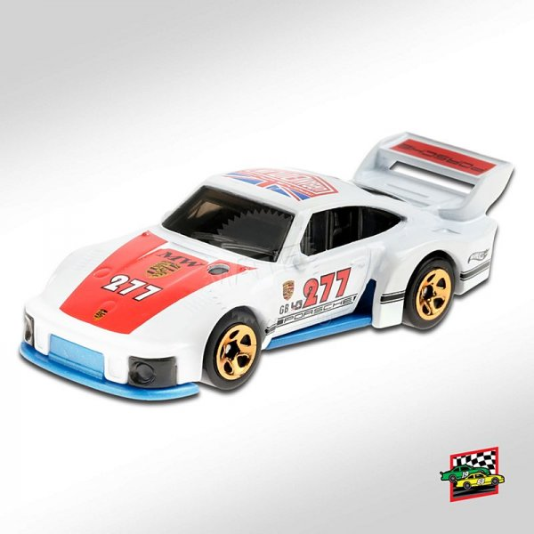 Hot Wheels | Porsche 935 #277 URBAN OUTLAW white