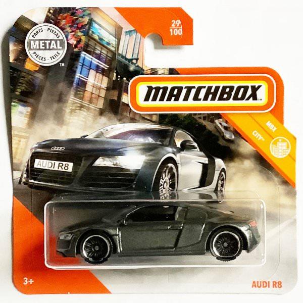 Matchbox | Audi R8 anthracite metallic
