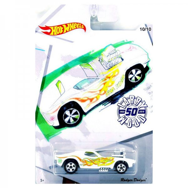 Hot Wheels | Larry Wood 50 Years of Design Rodger Dodger