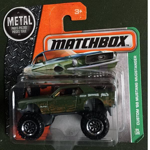 Matchbox | Custom '68 Mustang Mudstanger