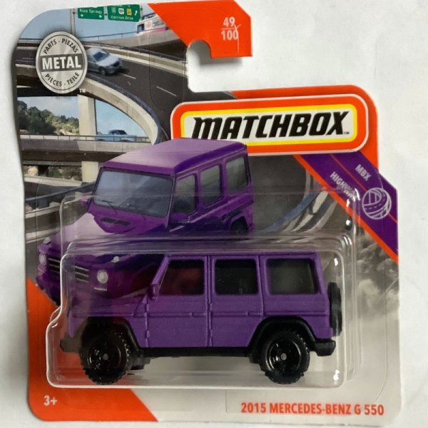 Matchbox | 2015 Mercedes Benz G 550 matt violett