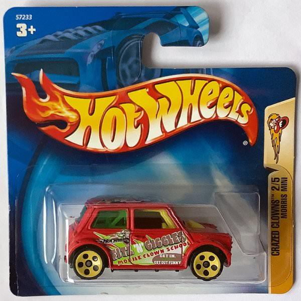Hot Wheels | Mini Cooper Crazed Clowns kurze Karte