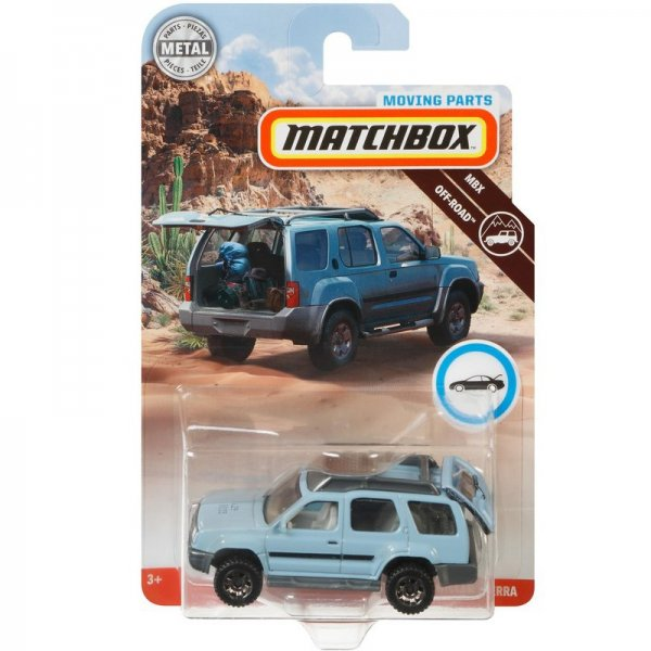 Matchbox | Roadtrip Open Parts Series 2000 Nissan Xtera