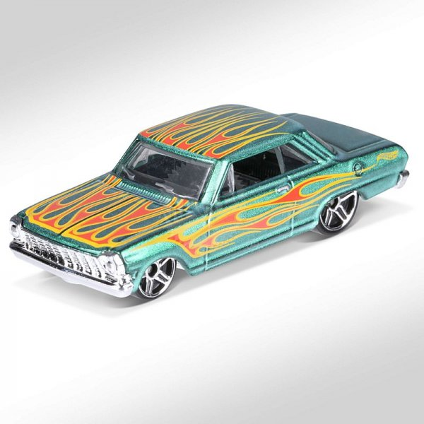 Hot Wheels | Chevy II green metallic