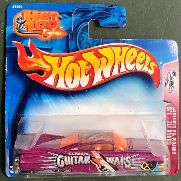 Hot Wheels | Crank Itz 1/5 Custom '59 Cadillac purble metallic