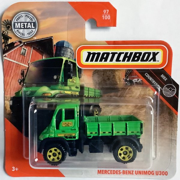 Matchbox | Mercedes Benz Unimog U300 green