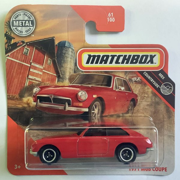 Matchbox | 1971 MGB GT Coupe rot