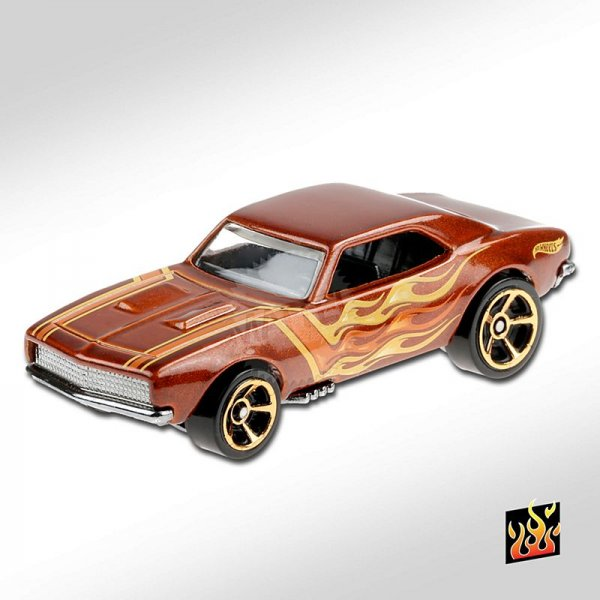 Hot Wheels | '67 Camaro braunmetallic
