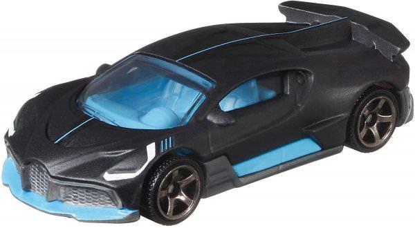 Matchbox | 2018 Bugatti Divo matt schwarz