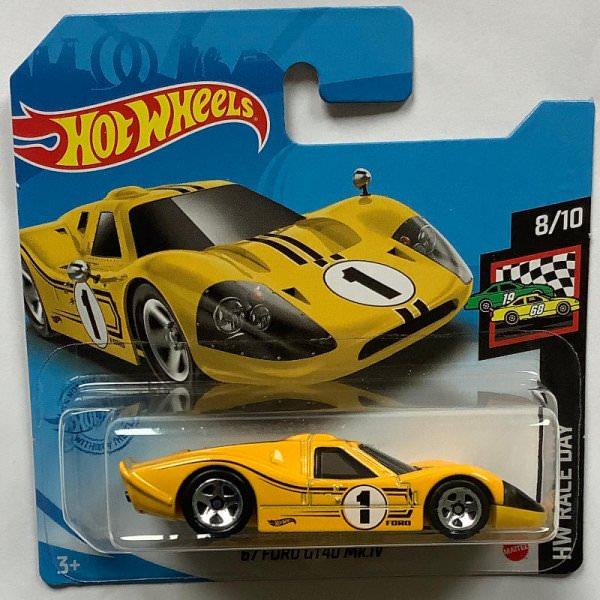 Hot Wheels   Ford GT40 MK IV #1 gelb