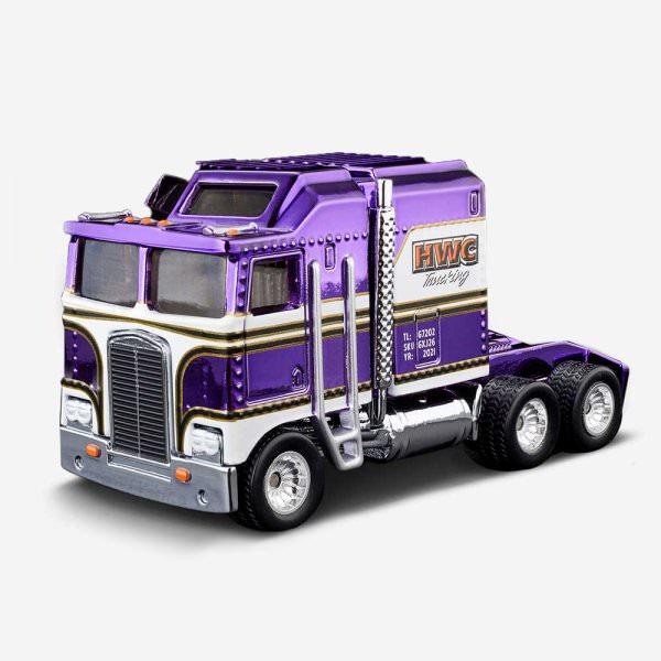 Hot Wheels   2021 HWC Thunder Roller Spectraflame purple