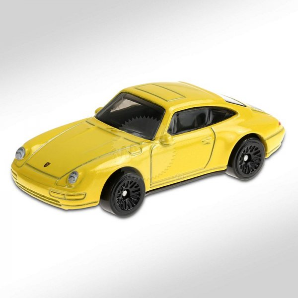 Hot Wheels | '96 Porsche CARRERA yellow