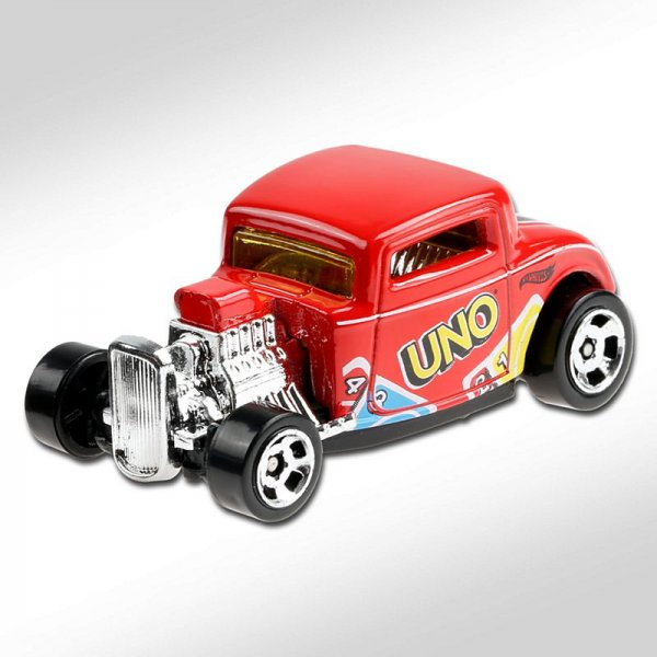Hot Wheels | '32 Ford UNO rot