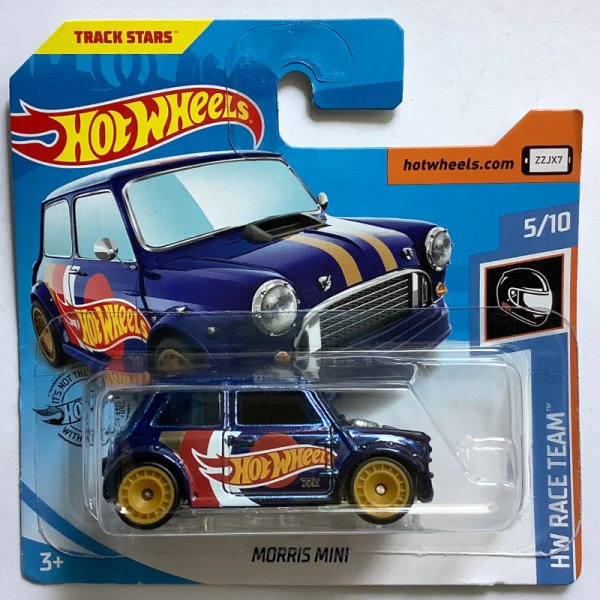 "Hot Wheels | Super Treasure Hunt Morris Mini ""Hot Wheels Racing"" blaumetallic"