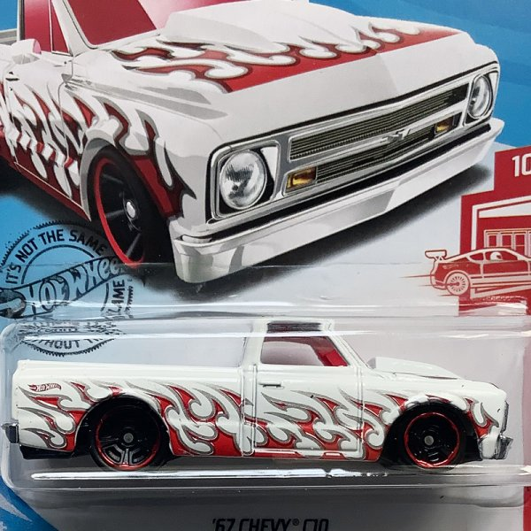 Hot Wheels | Target Red Edition white '67 Chevy C10