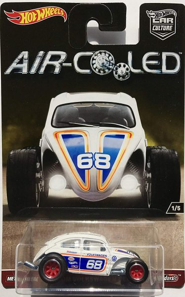 Hot Wheels | Car Culture Air-Cooled Custom Volkswagen Beetle #68 weiß