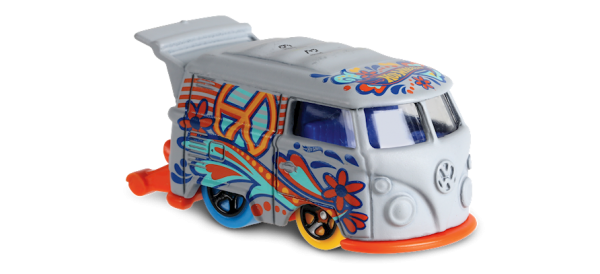 Hot Wheels | Kool Kombi grau HW Art Cars