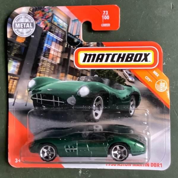 Matchbox | 1956 Aston Martin DB R1 dark green