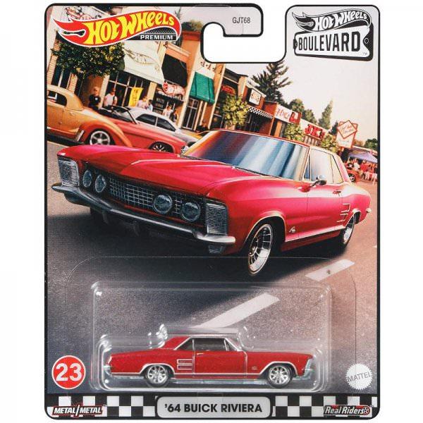 Hot Wheels | Boulevard 23 '64 Buick Riviera rot