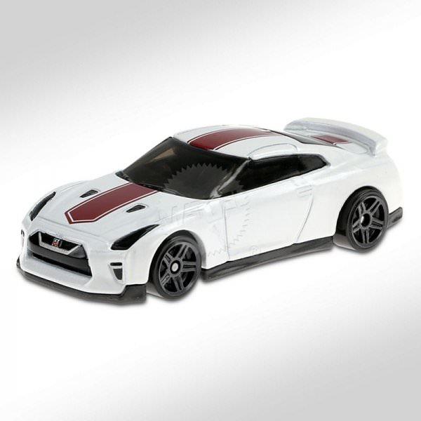 Hot Wheels | '17 Nissan GT-R (R35) weiß