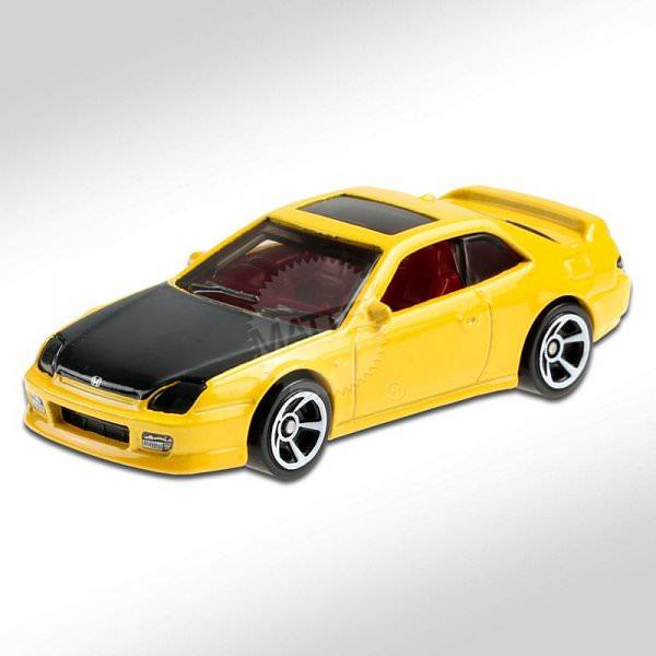 Hot Wheels   '98 Honda Prelude yellow