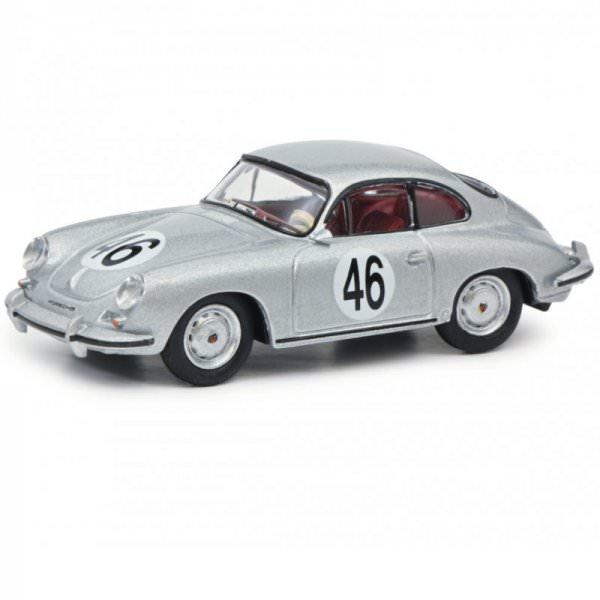 Schuco   Porsche 356 Carrera 2C Coupe #46 silver