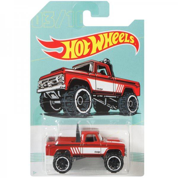 Hot Wheels | 03 Dodge Power Wagon rot American Pickups Walmart Serie
