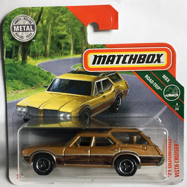 Matchbox | Oldsmobile Vista Cruiser braun metallic
