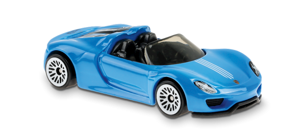 Hot Wheels | Porsche 918 Spyder blau