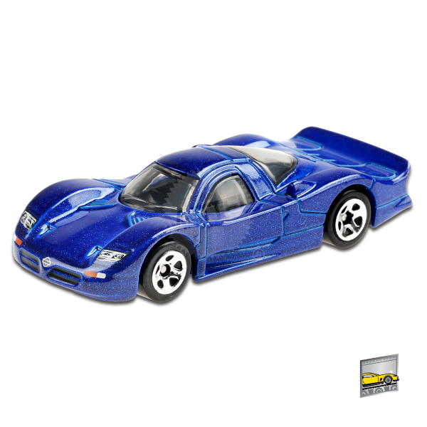 Hot Wheels   Nissan R390 GTI blue metallic