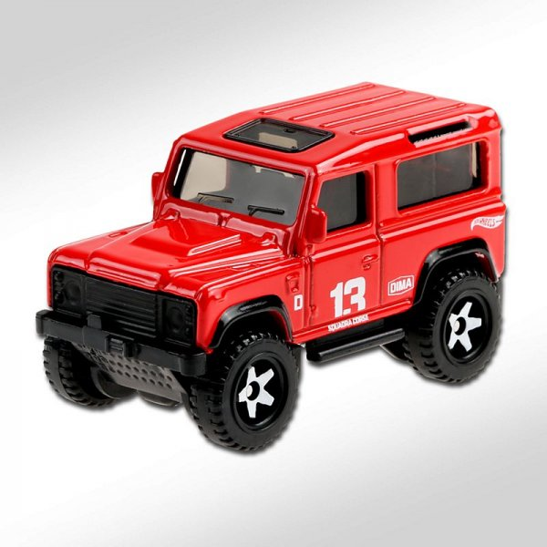 Hot Wheels | Land Rover Defender 90 rot