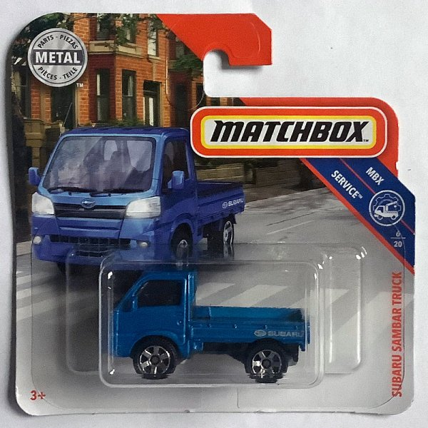 Matchbox | Subaru Sambar Truck blaumetallic