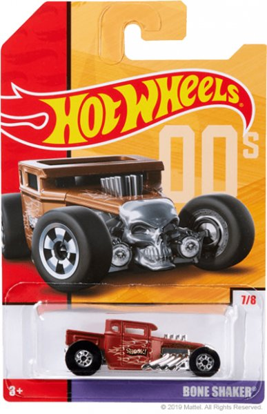 Hot Wheels | Target Throwback Editions 07 Bone Shaker braun