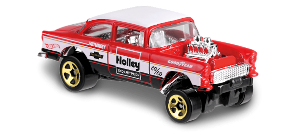 Hot Wheels | Chevy Bel Air Gasser HOLLEY rot/weiß