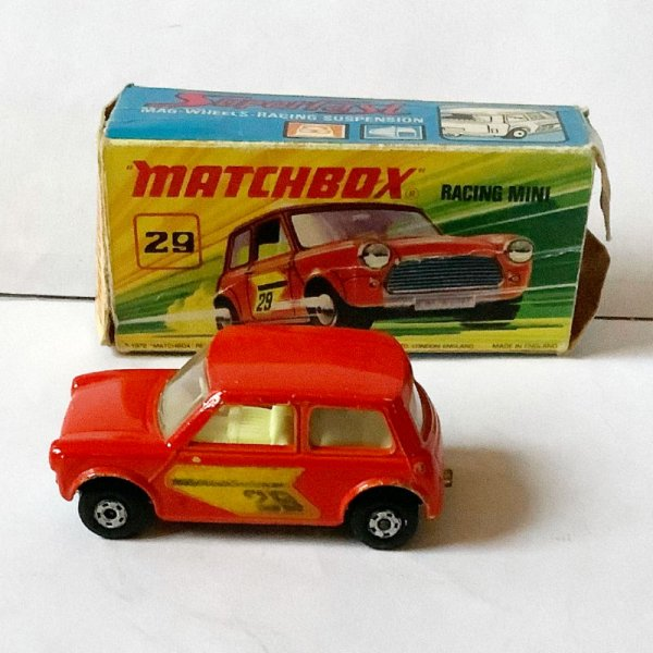 Matchbox | Superfast Racing Mini No 29 hellrot #24