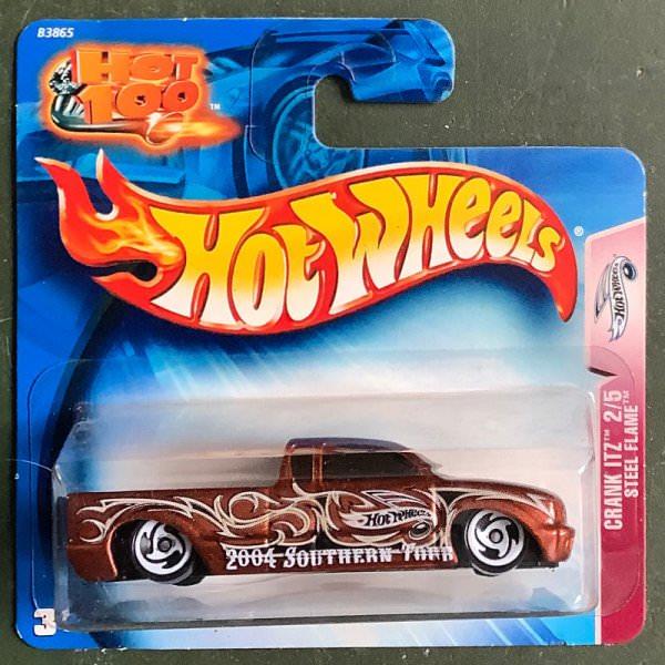 Hot Wheels | Crank Itz 2/5 Steel Flame brown metallic