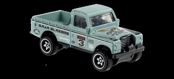 Hot Wheels | Land Rover Series III Pickup mint green
